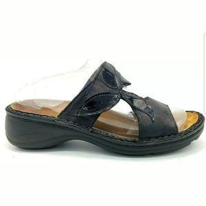 Naot Womens Shoes Slip On Two Strap Sandal Slides